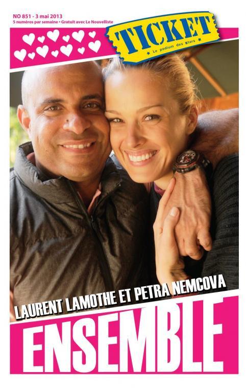 Na Haiti Němcovou drží i nová láska, tamní premiér Laurent Lamothe (40).