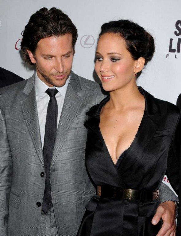 Bradley Cooper a Jennifer Lawrence