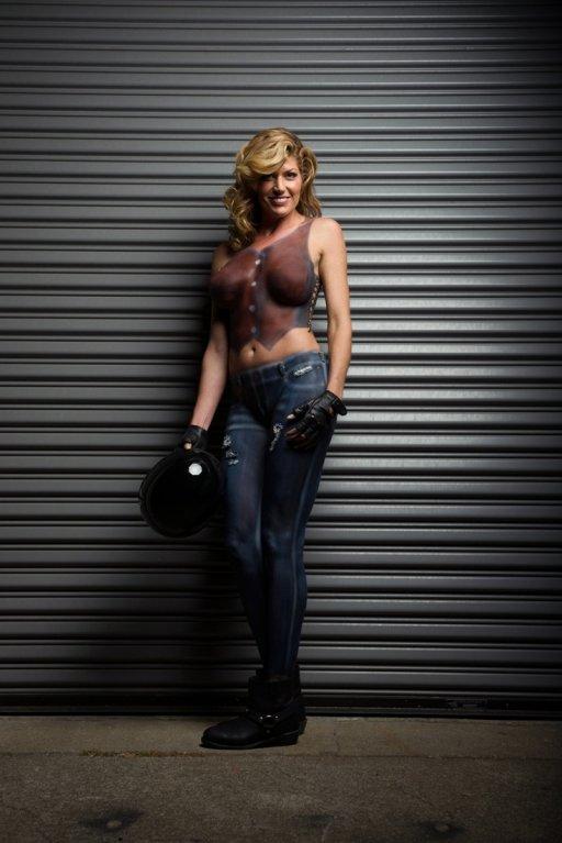 Motorcycles Bodypainting - Obrázek 4
