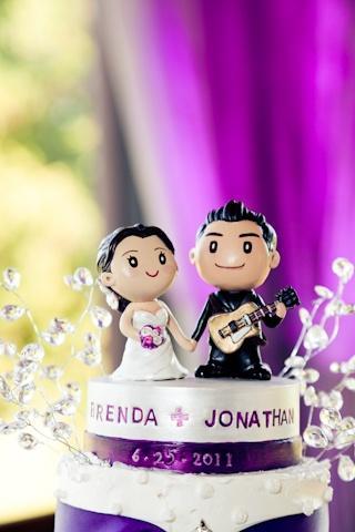 Svatební figurky mohou být i roztomilé