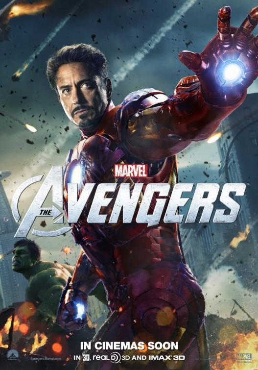 Avengers (2012) - Tony vstupuje do většího vesmíru. Stává se členem superhrdinského týmu Avengers, který musí zastavit shakespearovského mimozemšťana Lokiho... a jeho početnou armádu!