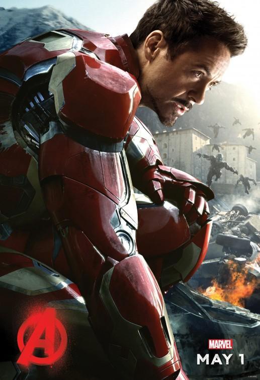 Avengers: Age of Ultron (2015) - Tony se rozhodne ochránit celý svět umělou robotickou inteligencí zvanou Ultron. Jeho dítko ale dojde k tomu, že na planetě Zemi překáží lidé, a tak je rozhodne vyhladit. Tony a Avengers proto musí znovu do akce!