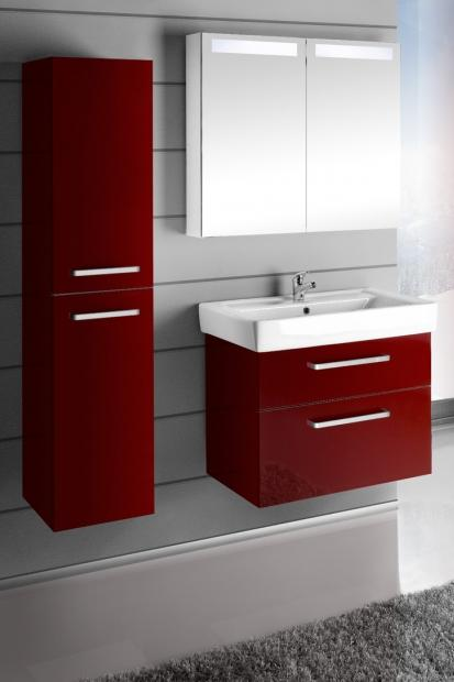 Vyberte si barvu i tvar anebo si rovnou navrhněte nábytek do koupelny sami. FOTO: Dřevojas
