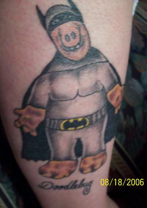 Zjevně fanoušek Batmana a také Alfa