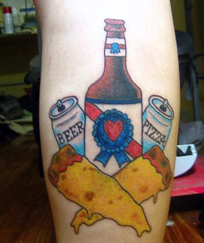 Tekutá pizza, pivo se srdíčkem a dva žluté fleky? Tak tohle je tedy úlet!