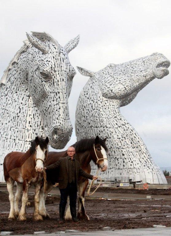 Největší plastiky koňů na světě
