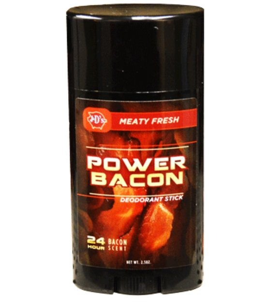 Jako deodorant asi efekt slanina moc mít nebude
