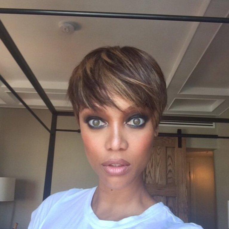 Tyra Banks vypadá jako žabí UFO! Její fotky bez make-upu vás vyděsí - Obrázek 5