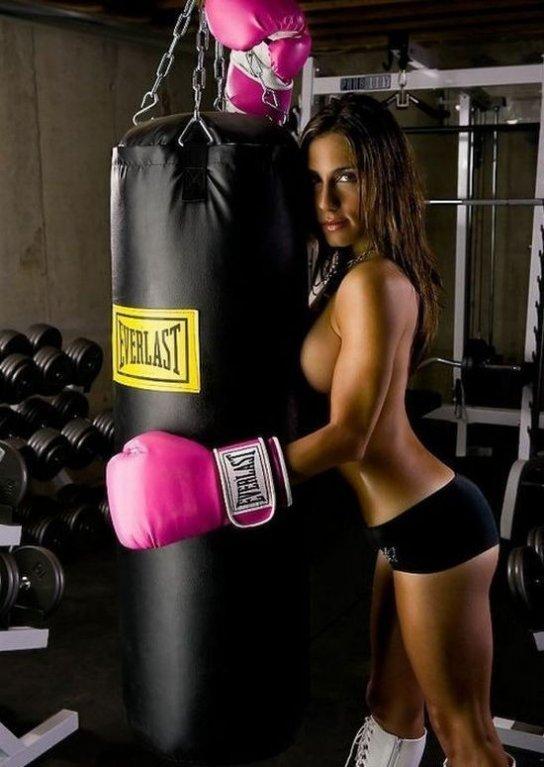 Kdyby takhle vyšla do ringu, ani by se nemusela moc snažit