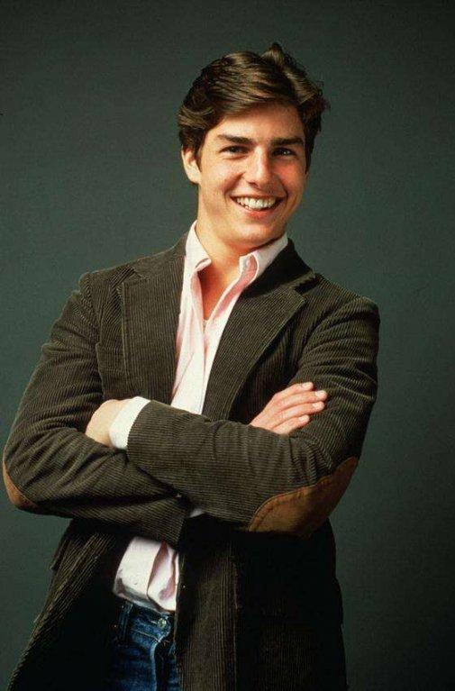 Velmi stará momentka dnes už velmi úspěšného Toma Cruise