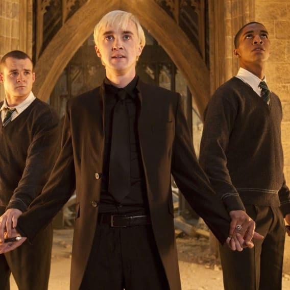 Gregory Goyle v Harry Potterovi.