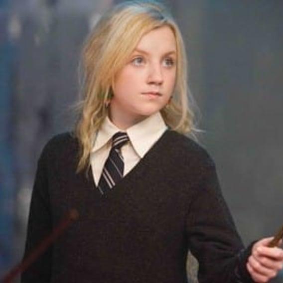 Lenka Láskorádová z Harry Pottera