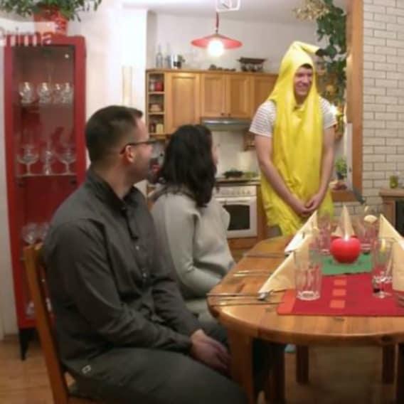 V Prostřeno! hosty přivítá banán 1