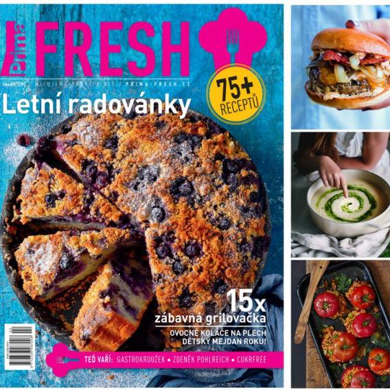 Letní číslo časopisu Prima FRESH