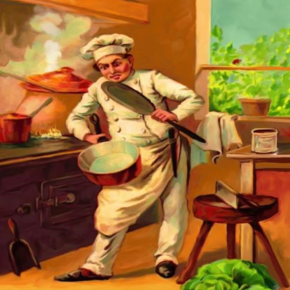 Kde je zvíře, které kuchař použije na vaření večeře?