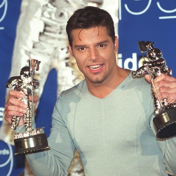 Ricky Martin v dobách své největší slávy.
