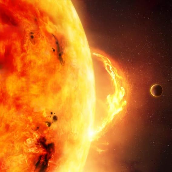 Zemi zasáhnou solární bouře