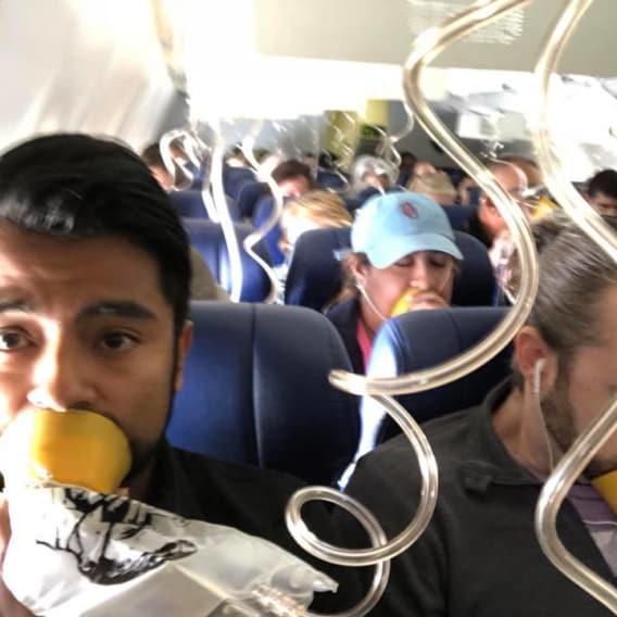 Děsivá nehoda v letadle, při které málem vypadla cestující