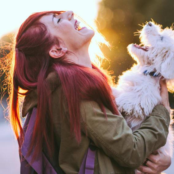 Pes a žena patří k sobě