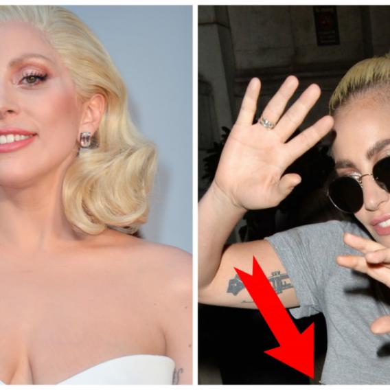 Lady Gaga ukázala hodně