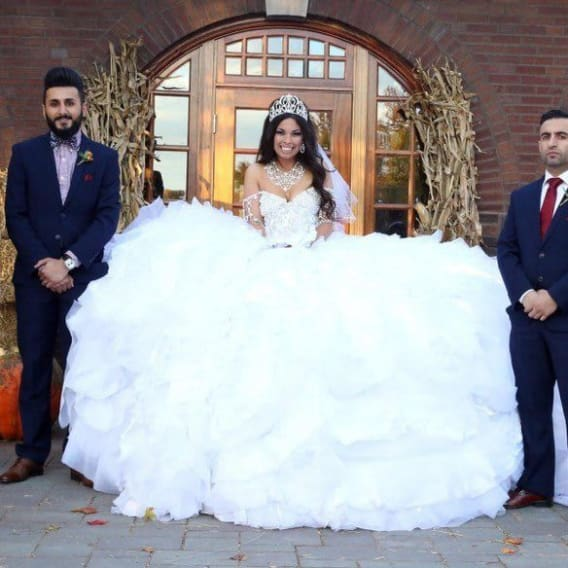 13 nejšílenějších svatebních šatů 8