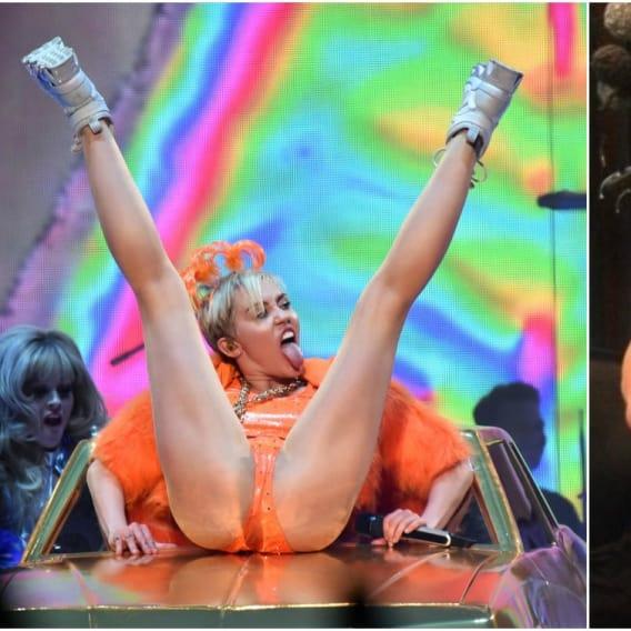 Miley Cyrus a uniklé fotky.