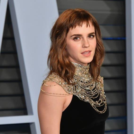 Emma Watson chtěla upozornit na kampaň Time´s Up.