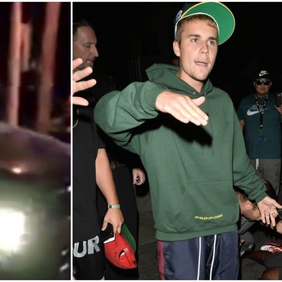 Justin Bieber srazil fotografa
