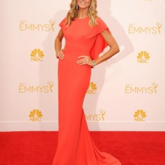Heidi Klum vypadala v modelu Zaca Posena dokonale