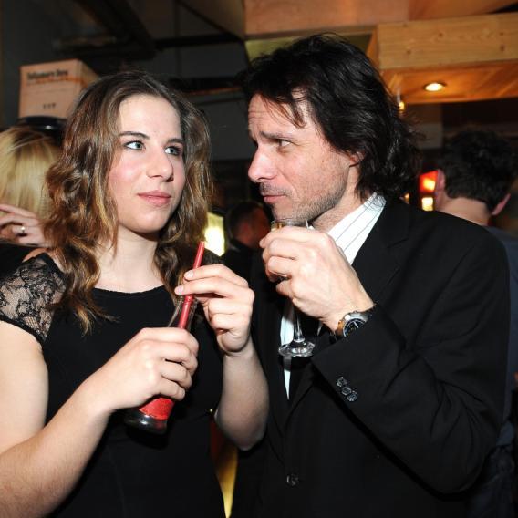 Janek Ledecký je na svoji dceru patřičně pyšný