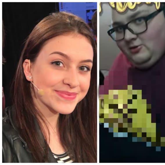 Fatty se převlékl za slavné youtuberky.