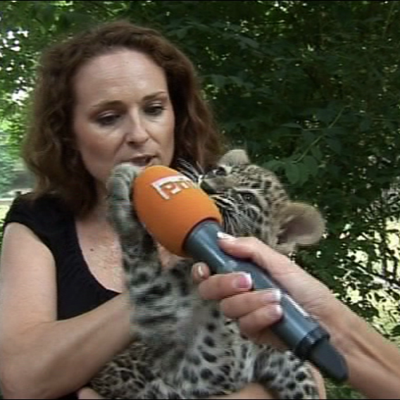 Video VIP zprávy: Markéta Hrubešová v zoo