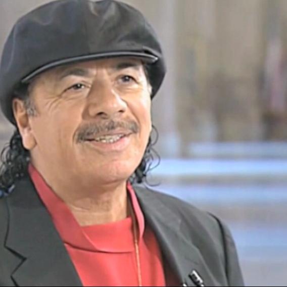 Video VIP zprávy: Carlos Santana