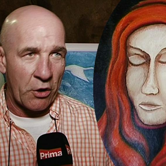 Video VIP zprávy: Z kaskadéra ve výslužbě se stal prodávaný malíř