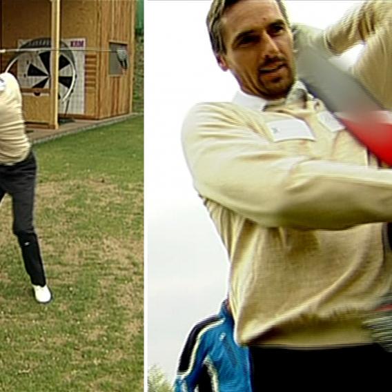 Video VIP zprávy: Olympionik Šebrle propadl golfu. Souhlasí s tím jeho žena?