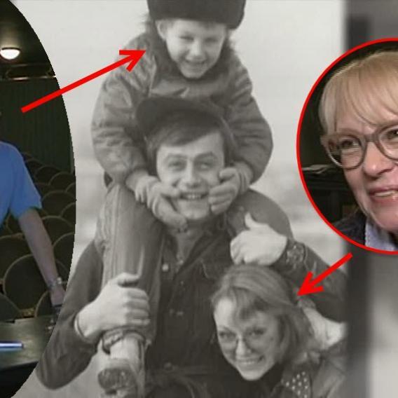 Video VIP zprávy: Kateřina Macháčková a Petr Svojtka svému synovi (vlevo a nahoře) syna rozmlouvali, ale marně!