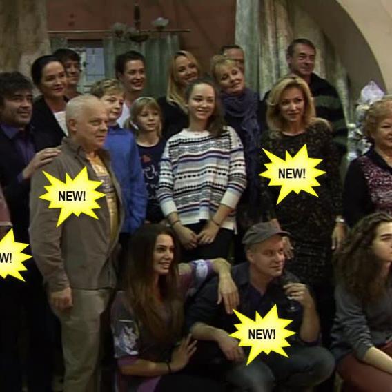 Video VIP zprávy: Podívejte se na nové tváře druhé řady seriálu Svatby v Benátkách