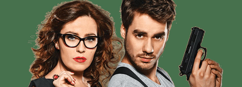 Soňa Norisová a Patrik Děrgel jako Klaudie a Beran. Nová a neokoukaná dvojka detektivního seriálu V.I.P. vraždy.