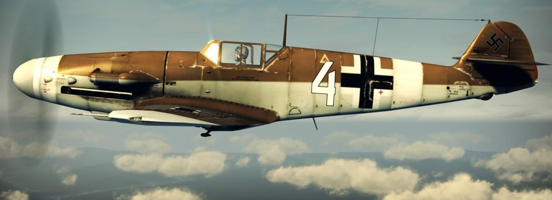 Messerschmitt Bf-109G-6 posloužil v závěru války jako kamikadze