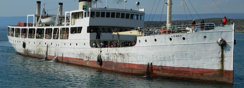Liemba dodnes pluje po jezeře Tanganyika