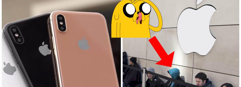 Na nový iPhone se stojí fronty ještě před jeho představením...