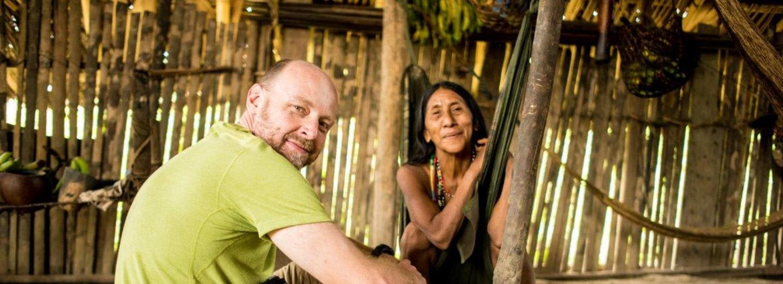 Petr Horký v Ekvádoru
