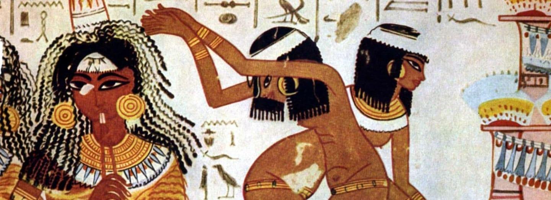 Egyptské tanečnice