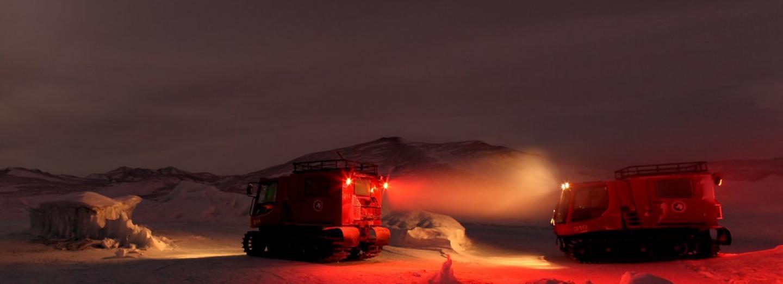 Zima v Antarktidě