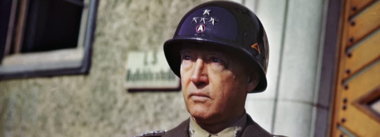 Čtyřhvězdičkový generál George Patton