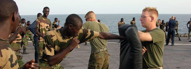 řízená agrese u US Marines
