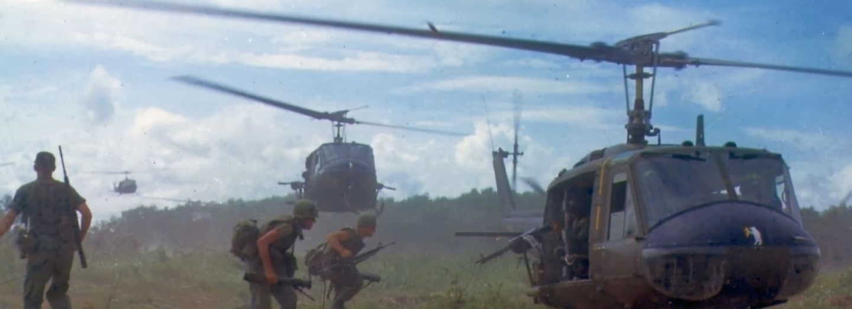 Helikoptéry UH-1 armády USA v boji