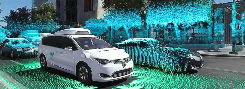 Projížďka automatickým taxíkem Waymo