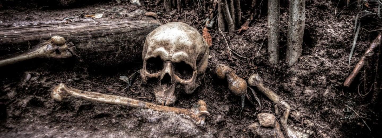 I dnes se dají najít kostry tisíce let staré
