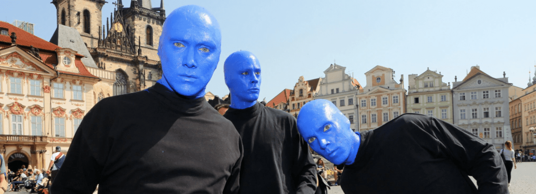 Blue Man Group v Praze